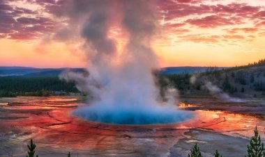 Visiting Yellowstone National Park -Famous Attractions, Geysers, Volcano