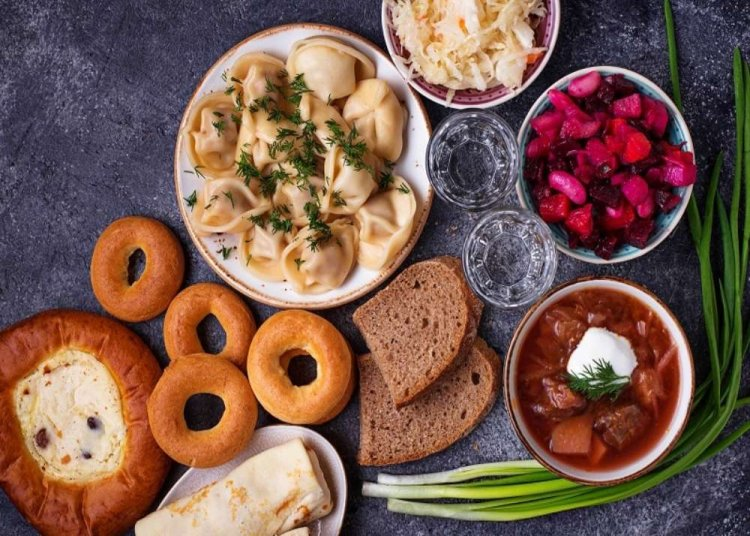 food in moscow